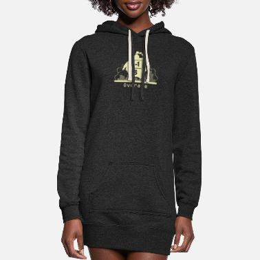 Over Overate - Women's Hoodie Dress