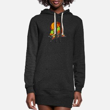 Fighter BLANCA Street Fighter - Women's Hoodie Dress