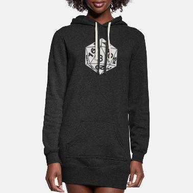 Number Number - Women's Hoodie Dress