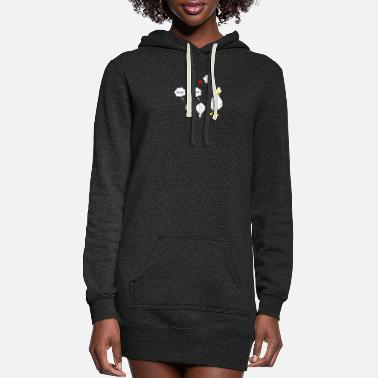 Duck Duck Duck - Women's Hoodie Dress