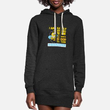 Stinger Beekeeper Beekeeping Honey Bee Queen Gift - Women's Hoodie Dress