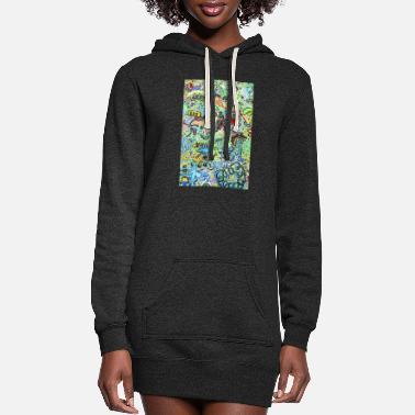 Graffiti Graffiti - Women's Hoodie Dress