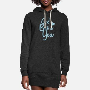 Bless You god bless you - Women's Hoodie Dress