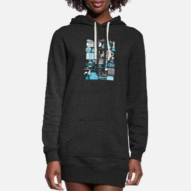 The office - Cool t-shirt for office lovers - Women's Hoodie Dress