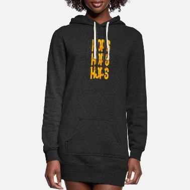 Hop hops hops hops 2 - Women's Hoodie Dress