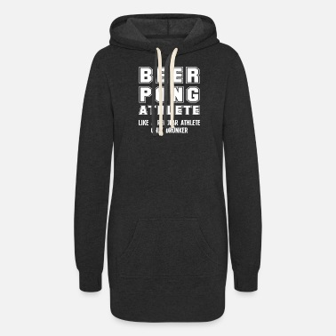 Beirut Funny Beer Pong Player Beer-Pong College Party - Women's Hoodie Dress
