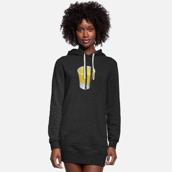 Alcohol Hoodies & Sweatshirts - Tequilla Shot - Women's Hoodie Dress heather black