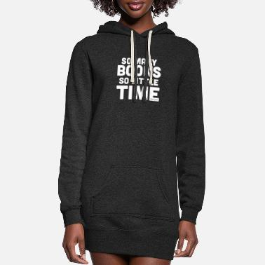 Book Book - Books and Time - Women's Hoodie Dress