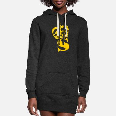 S Name Crown - S – Name - Women's Hoodie Dress