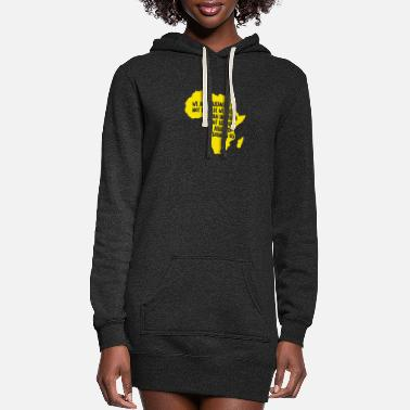 Africa Africa - Africa - Women's Hoodie Dress