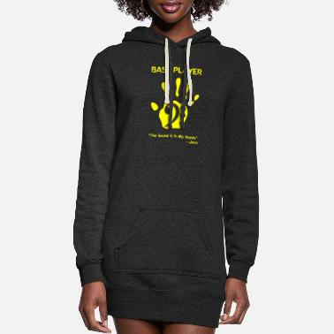 Bass Player Bass Player - Bass Player -- - Women's Hoodie Dress