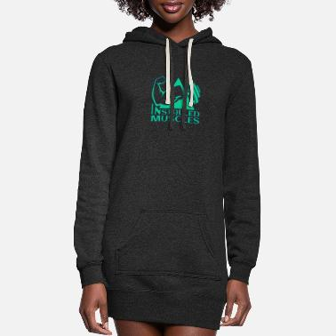 Muscle INSTALLED MUSCLES - Women's Hoodie Dress