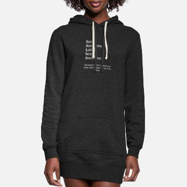 Salsa is sexy, awesome, and Latin. - Women's Hoodie Dress