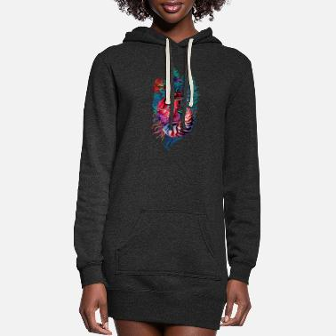 Ancient ancient heart - Women's Hoodie Dress