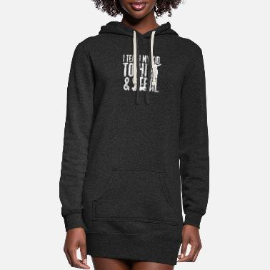 Steal HIT and STEAL - Women's Hoodie Dress
