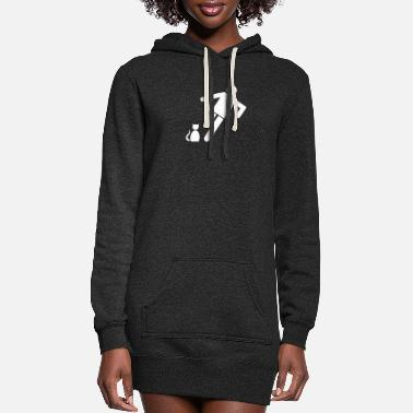 Kick Kick The Cat - Women's Hoodie Dress