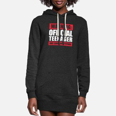 Teenager Teenager - Women's Hoodie Dress