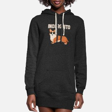 Animal Corgi Incorgnito - Women's Hoodie Dress