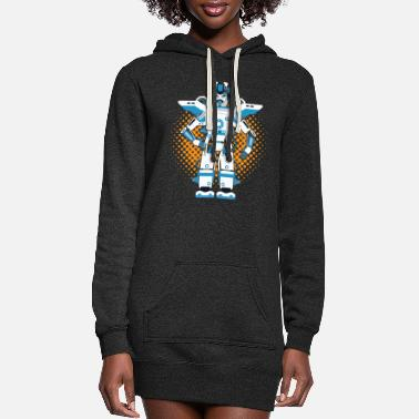 Robot Robots and robotics - Women's Hoodie Dress