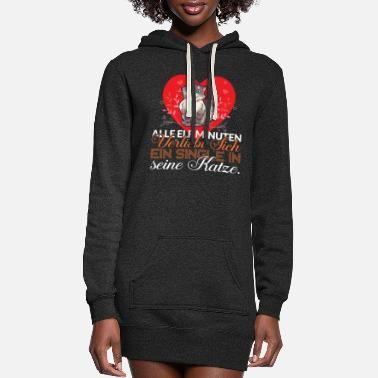Arrow Every eleven minutes a single person falls in love - Women's Hoodie Dress