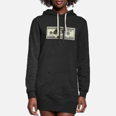 Bill Dollar Bill - Women's Hoodie Dress