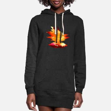 Streetwear Hero of hearts | Off into the air!| cool Design - Women's Hoodie Dress