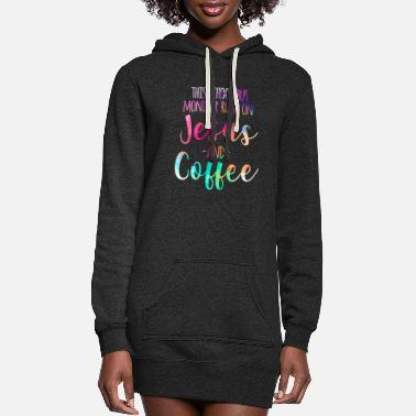 Running This School Bus Monitor Runs On Jesus & Coffee - Women's Hoodie Dress
