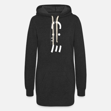 Ascii Octopus Emoticon C:。ミ Japanese Kaomoji - Women's Hoodie Dress