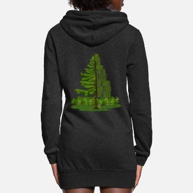 Forest And into the forest I go... - Women's Hoodie Dress
