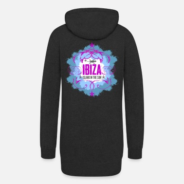 Popartcontest ibiza - island in the sun - Women's Hoodie Dress