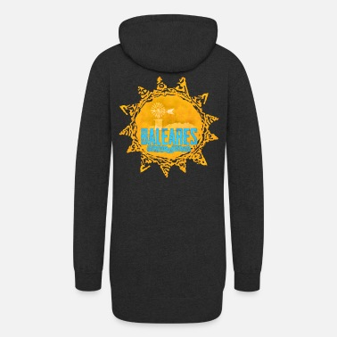 Popartcontest baleares - islands in the sun - Women's Hoodie Dress