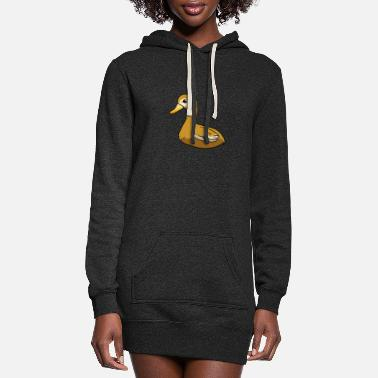 Saxony Saxony Duck - Women's Hoodie Dress