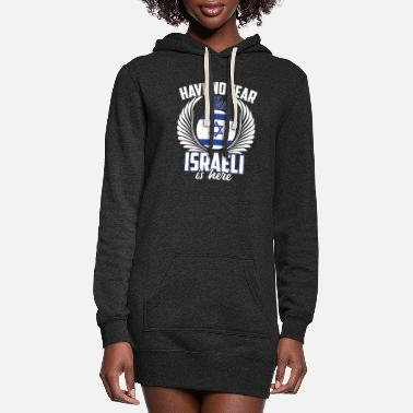 Chanukkah Have No Fear The Israeli - Women's Hoodie Dress