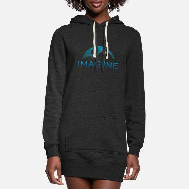 Imagination Imagine - Women's Hoodie Dress