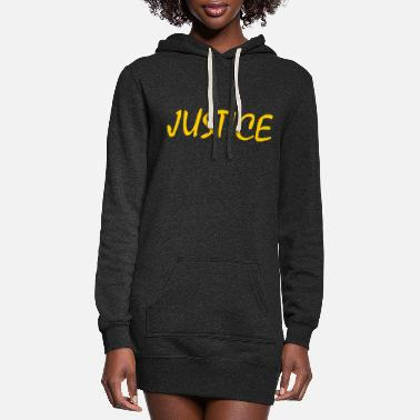 No Justice No Justice - Women's Hoodie Dress