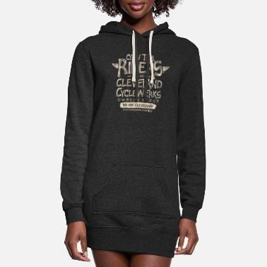 Tha Riders Stacked 2 Logo Design - Women's Hoodie Dress