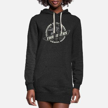 Tha Riders Falcon 2-color design - Women's Hoodie Dress