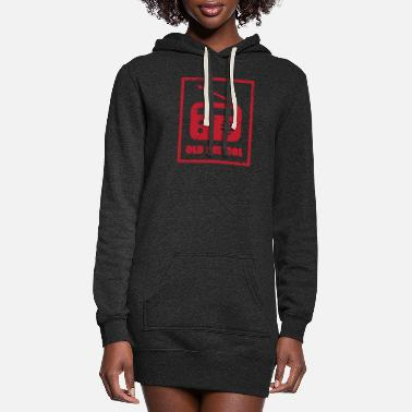 School old school - Women's Hoodie Dress