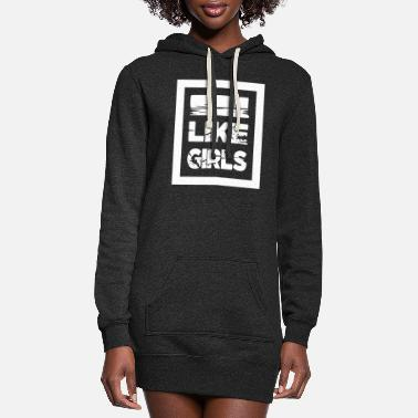 Justice-authority justice (authority) feminism notorious cute - Women's Hoodie Dress