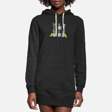 Life Is Too Short To Bet The Under Sports Betting - Women's Hoodie Dress