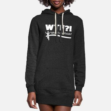 Wtf WTF - Women's Hoodie Dress