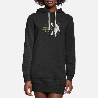 Achieve Your Dreams Make your dreams real - Women's Hoodie Dress