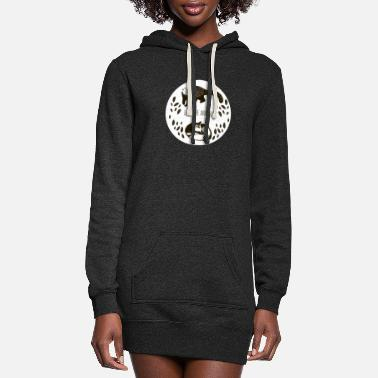 fox mountains wild - Women's Hoodie Dress