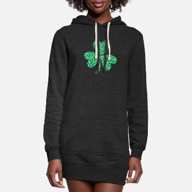 Shamrock Shamrocks in a shamrock - Women's Hoodie Dress