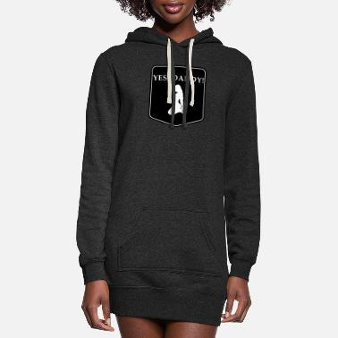 Daddy Kink YES DADDY DDLG Fetish Little Girl - Women's Hoodie Dress
