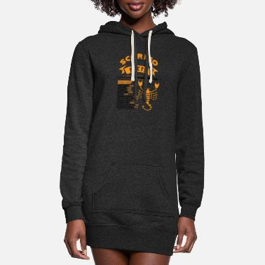 November Scorpio Facts SCORPIO FACTS - Women's Hoodie Dress
