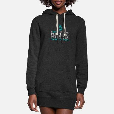 Alva Love Skate - Punching people is frowned upon - Women's Hoodie Dress