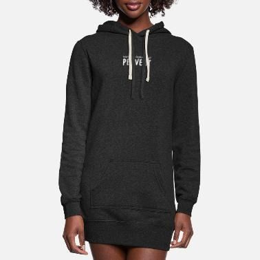 Wot You Looking At Pervert - Women's Hoodie Dress