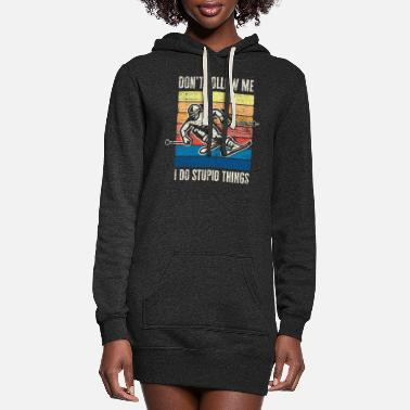 Ski Ski - Women's Hoodie Dress