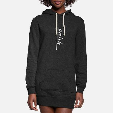 Inspirational Quotes Faith - Women's Hoodie Dress